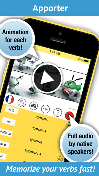 Learn French Verbs - Pronunciation by a Native Speaker