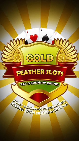 Gold Feather Slots Pro - Play action-packed bonus games with HUGE jackpots