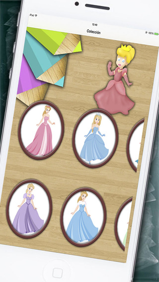 Princesses for painting and coloring with magic marker premium