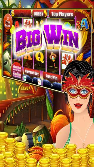 Brazil samba slots 777 – Free hot carnaval style gamble game simulation