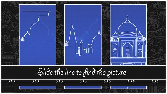 彩线拼图:Find The Line