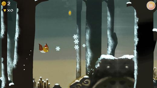 Birds In Trouble Winter Pro Screenshot