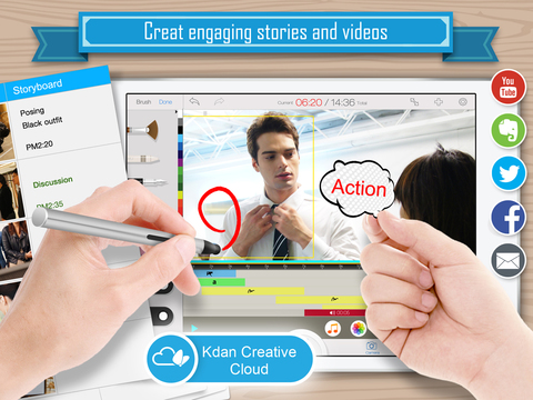 Write-on Video - Explain express and share with your own words in storyboards or videos