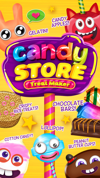 Make My Candy Mania Store Tasty Sweet Treats Game - Advert Free App