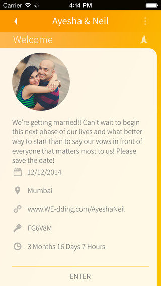 WE Wedding App