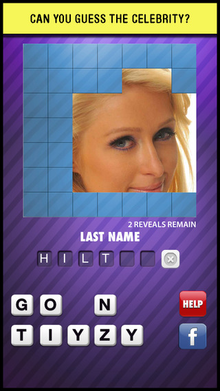 A Guess The Celebrity Picture Trivia Quiz - famous face look alike character guessing close up game