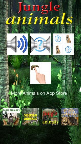 Jungle animals Free