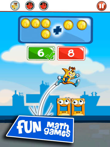 Monster Numbers: Math learning games with additions and subtractions for school age kids Screenshots