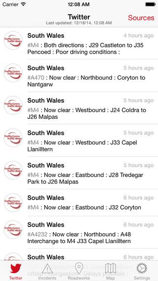 Traffic Wales