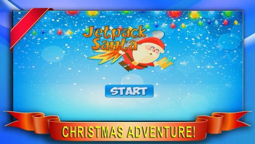 Aaaah Jetpack Santa - Christmas Holiday Winter Adventure
