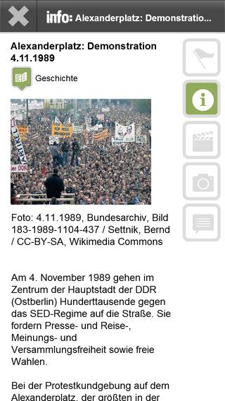 DDR-Opposition in Ostberlin