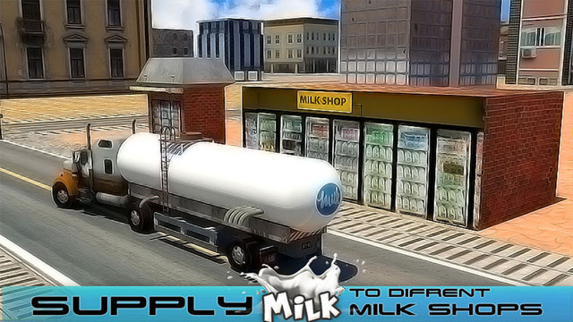 玩免費遊戲APP|下載Transport Truck: Milk Supply app不用錢|硬是要APP