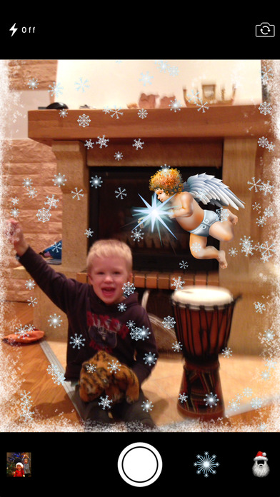 Christmas Photo Booth iPhone Screenshot 3