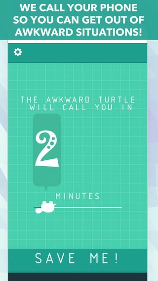 Awkward Turtle - fake phone call app to escape awkward situations