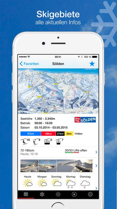 bergfex/Ski iPhone Screenshot 4