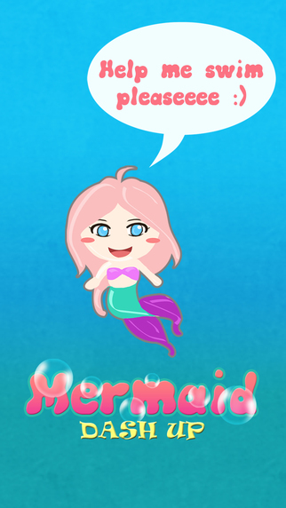 Mermaid Dash Up - Pinky Fin's Bubble Swim