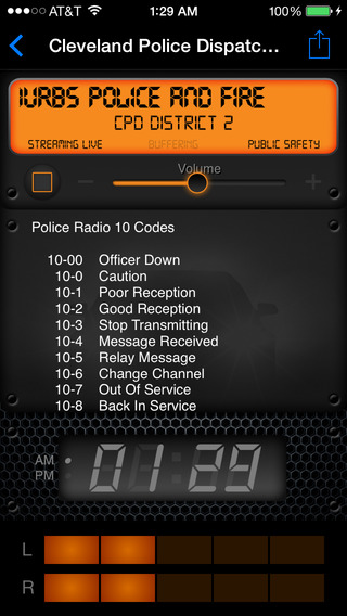 Screenshots for Police Radio - Live Police, Fire and EMS