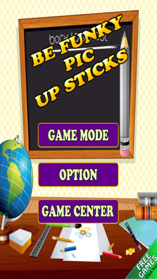 Be Funky Pic Up Sticks Free