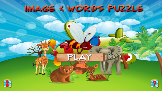 Image and Words Puzzle for Kids
