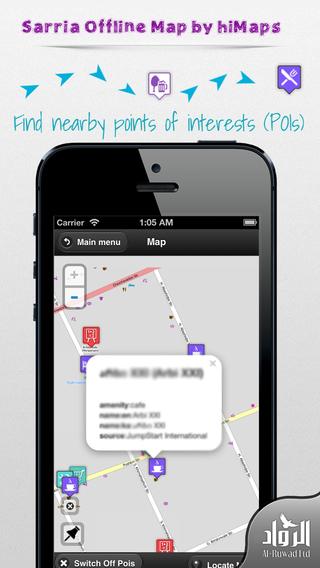 Sarria Offline Map by hiMaps