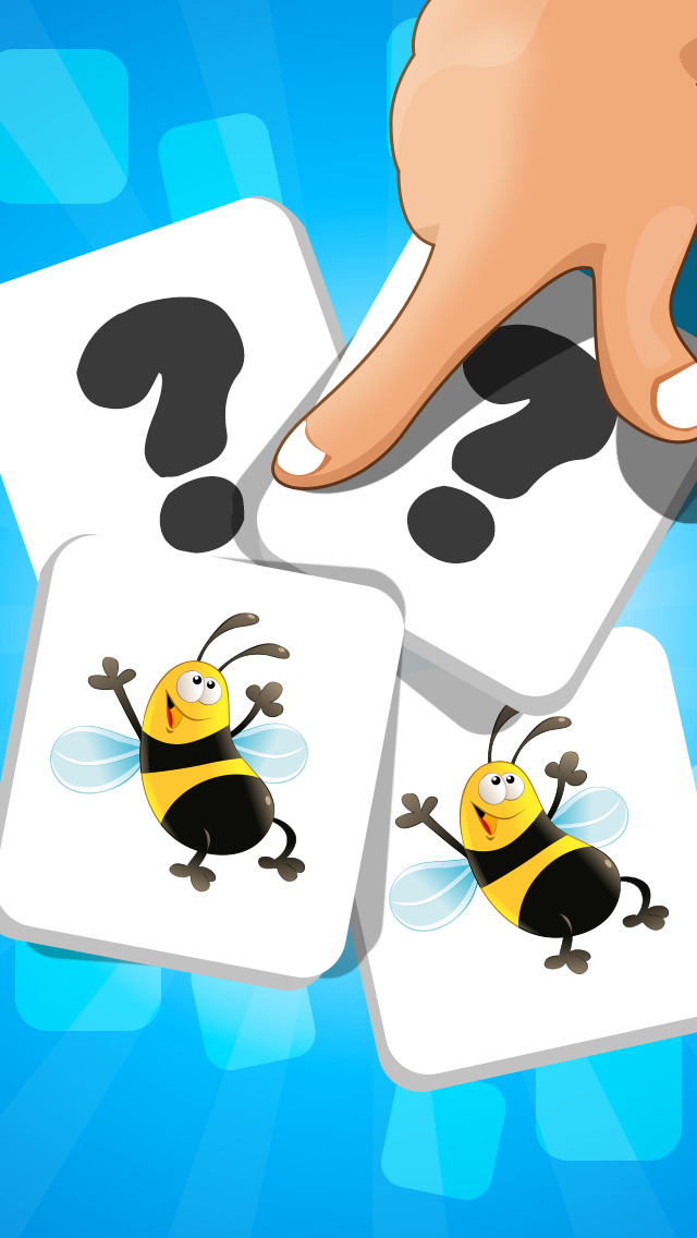 A Matching Game for Children: Learning with Bugs and Insects