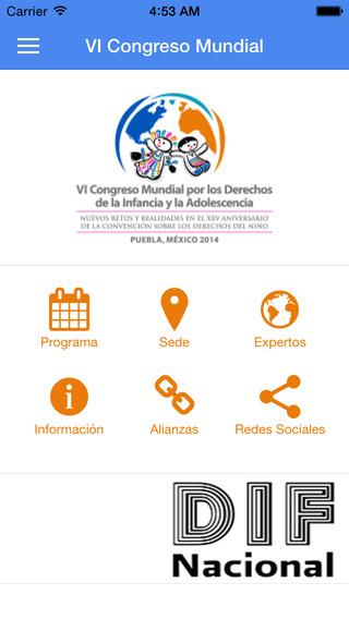 VI Congreso Mundial Infancia
