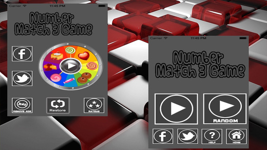 Number match 3 Games