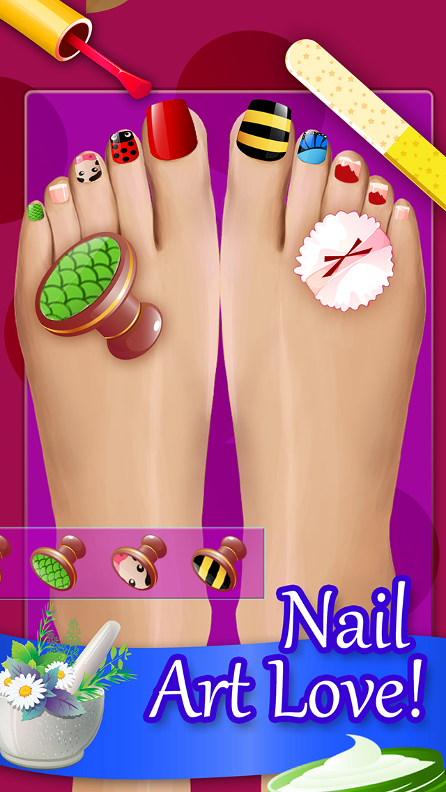 App shopper nail care salon games for A nail salon game