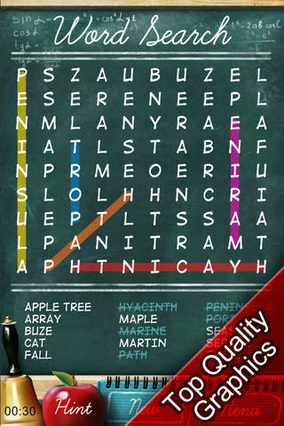 Screenshot 1 Free Word Search Puzzles