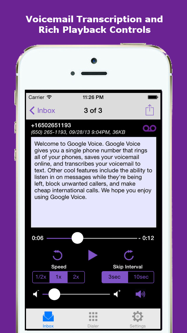 how to change text free voicemail