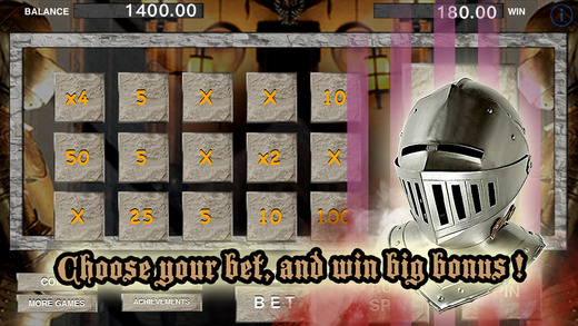 AAA Aace Knight Dragon Slots PRO - Rush to win Prize of Ancient Roman Battle warrior