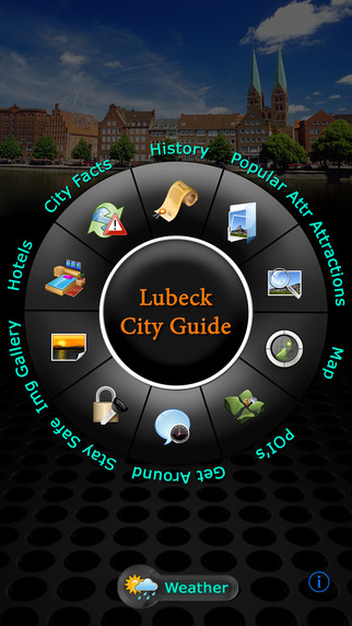Lubeck Offline Map Travel Guide