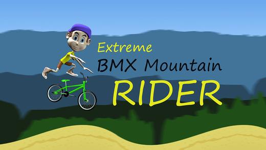 Extreme BMX Mountain Rider - cool speed bike racing game