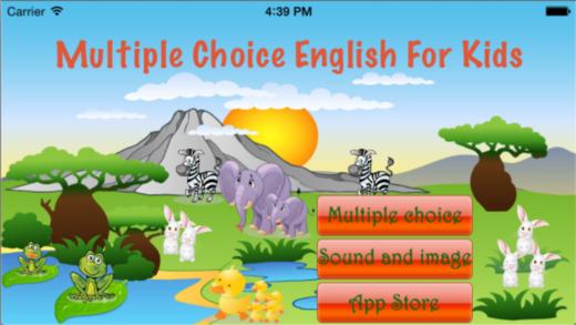 MultipleChoiceEnglish-For Kids