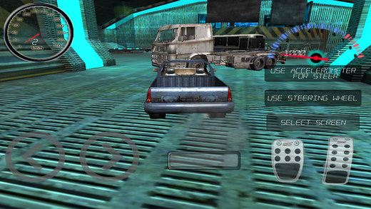 RC Car Simulator in Sci-Fi Lab