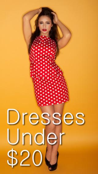 Dresses Under $20 Plus App by Wonderiffic®