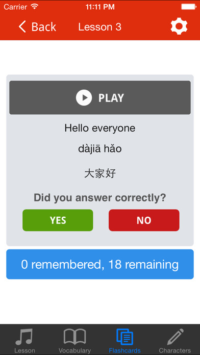 CLO: Mandarin Chinese Course iPhone Screenshot 4