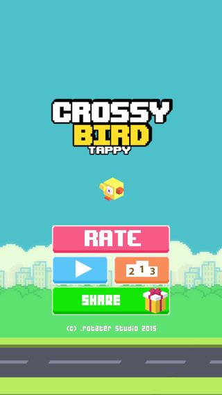 Crossy Tiny Bird - Cross The High Road Game