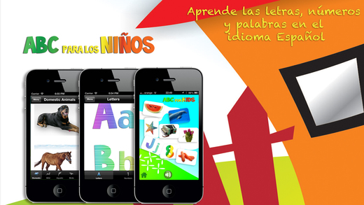 ABC para los Niños Learn Letters Numbers and Words
