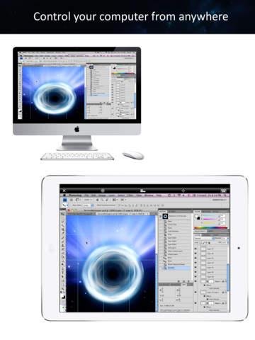 iTeleport Remote Desktop - VNC & RDP Screenshots
