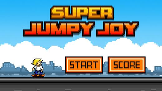 Super Jumpy Joy ~ Endless Skateboarding Game FREE
