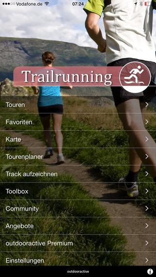 Trailrunning - outdooractive.com Themenapp
