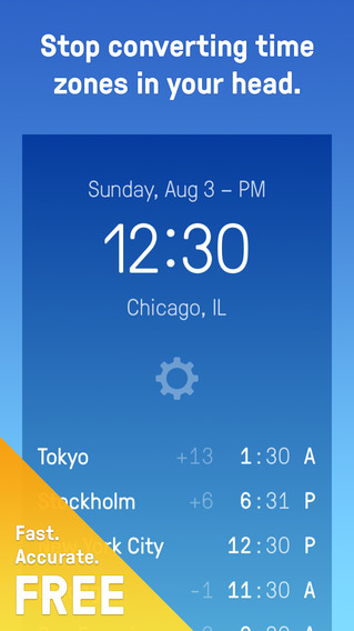 Time Zones + World Clock Time Zone Converter