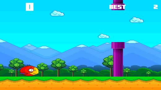 Bird vs Pipe Jump