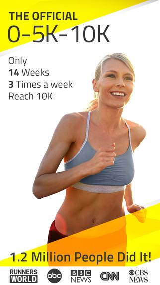 10K Runner: 0 to 5K to 10K run training. Couch to 5K to 10K running