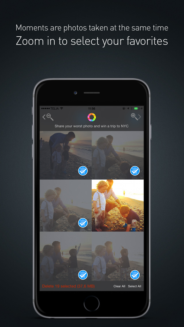 how to save and delete photos from iphone 5