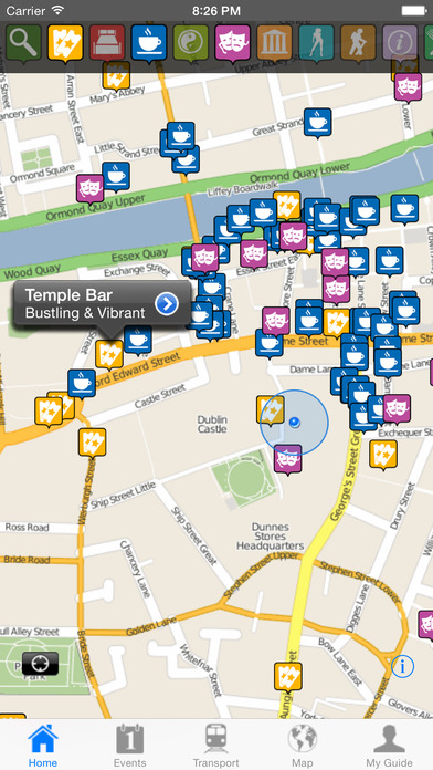 Dublin Travel Guide Offline iPhone Screenshot 2