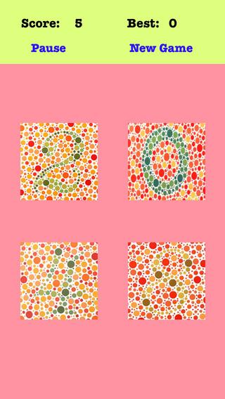 Color Blind 2048 Pro