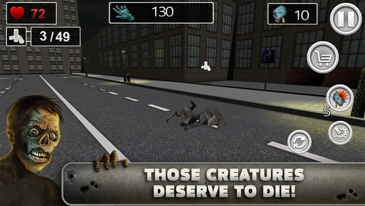 Zombies Slayer Streets 3D