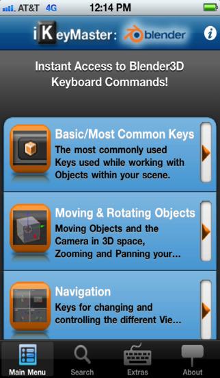 iKeyMaster:Blender3D iPhone Screenshot 4